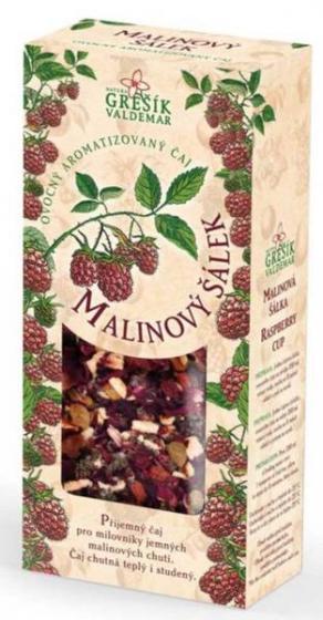 Grešík - Malinový šálek 100 g - ovocný čaj sypaný
