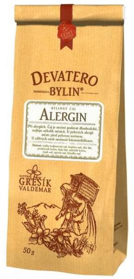Grešík - Alergin 50 g - devatero bylin - pro alergiky
