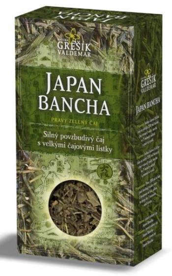 Grešík - Japan Bancha pravý zelený čaj 70 g