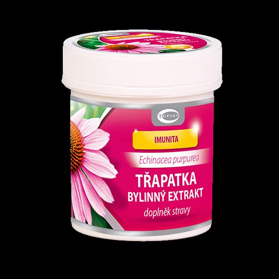 Topvet - Echinacea purpurea PLUS 60tobol. s vitam. C - podpora odolnosti, doplněk stravy