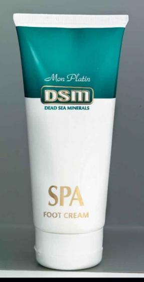 DSM - Minerální regenerační krém na nohy 200ml - Kosmetika Mrtvého moře