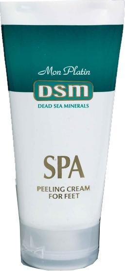 DSM - Peelingový krém na nohy s minerály 150ml - Kosmetika Mrtvého moře